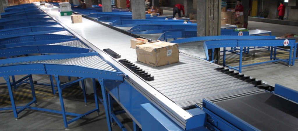 Sliding Shoe Sorter Conveyor 1